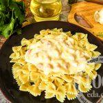 Экономный сливочный соус с ветчиной к макаронам