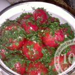Экономные маринованные помидоры
