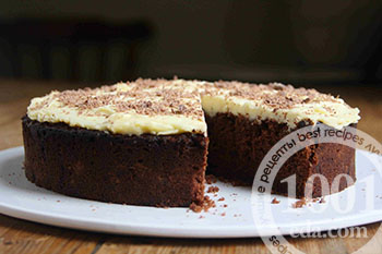Рецепт шоколадного пирога на пиве