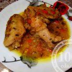 Куриные крылышки в подливе в мультиварке: рецепт с пошаговым фото