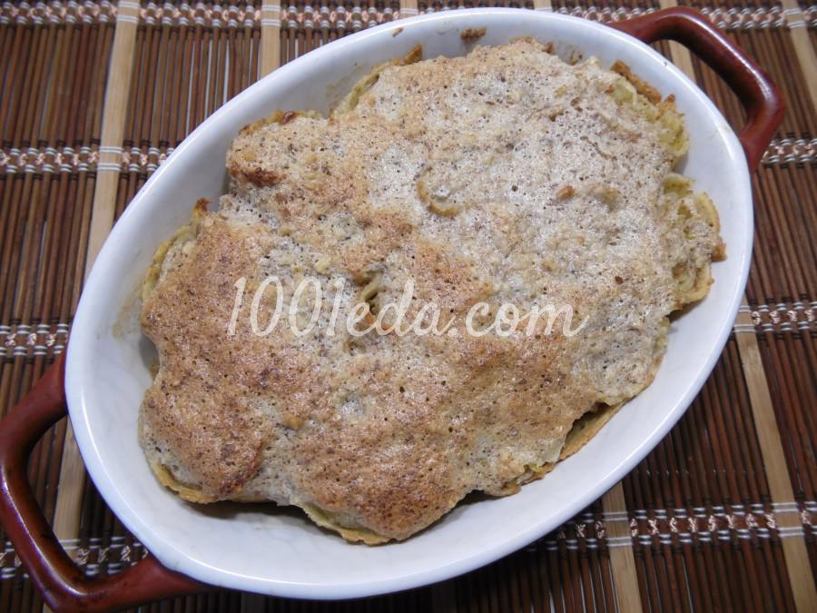Блинная запеканка с грушами: рецепт с пошаговым фото