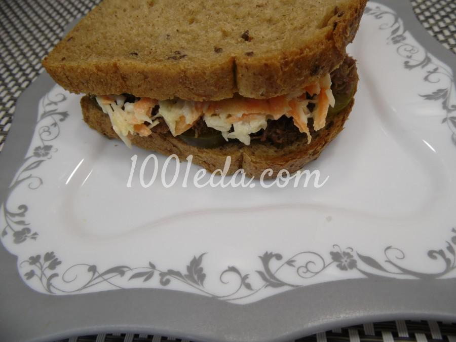 Мужской бутерброд с тушенкой: рецепт с пошаговым фото