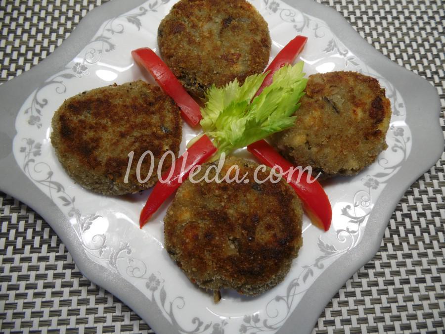 Котлеты из баклажанов с адыгейским сыром: рецепт с пошаговым фото