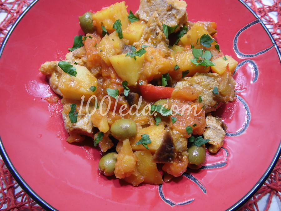 Мясное рагу с овощами