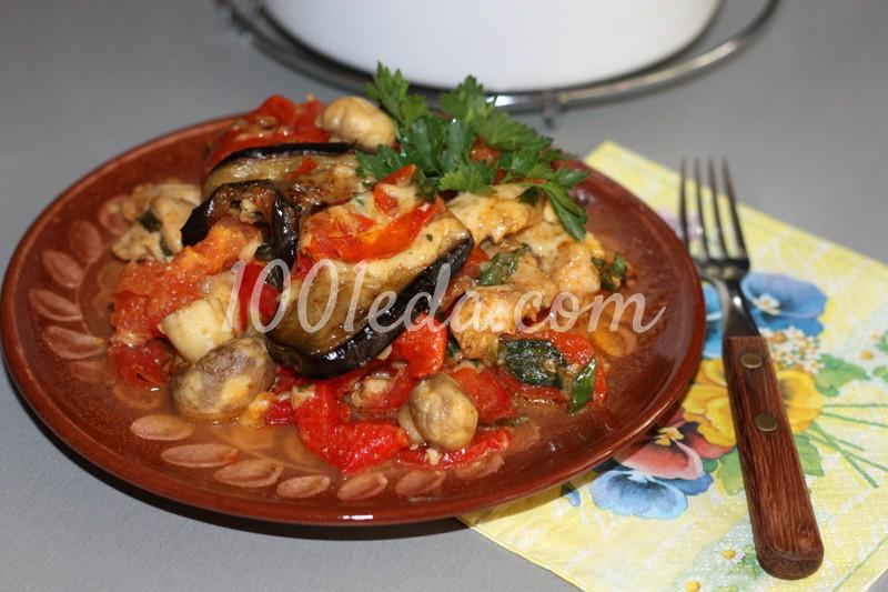 овощное рагу в духовке с сыром рецепты