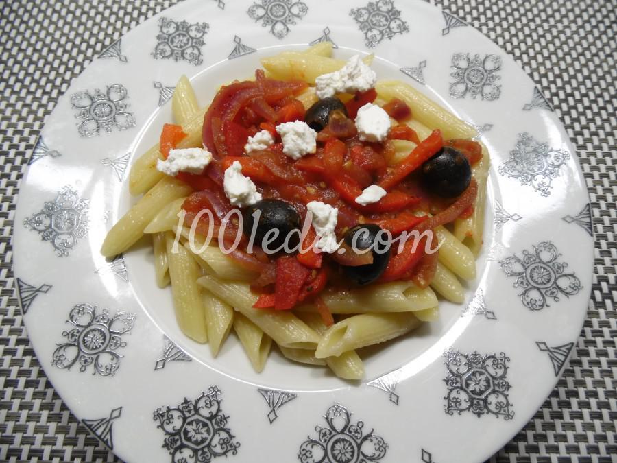 Паста с томатно-перечным соусом: рецепт с пошаговым фото