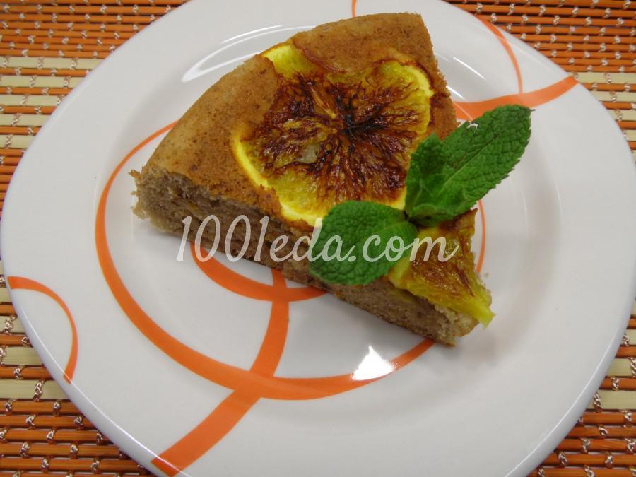 Апельсиново-ореховый пирог в мультиварке: рецепт с пошаговым фото