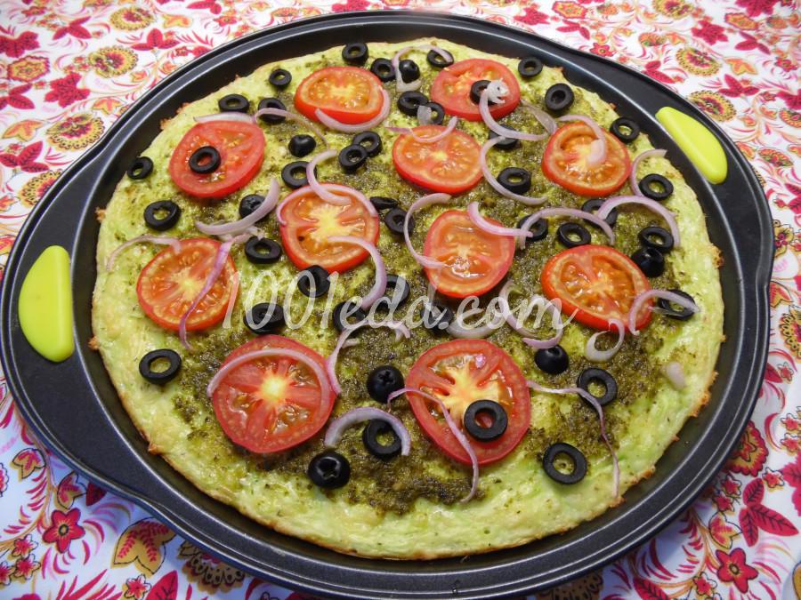 Пицца Летняя с соусом песто: пошагово с фото