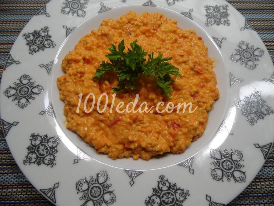 Пшено в перечном соусе: рецепт с пошаговым фото