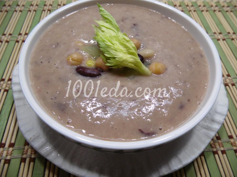 Суп-пюре из бобовых