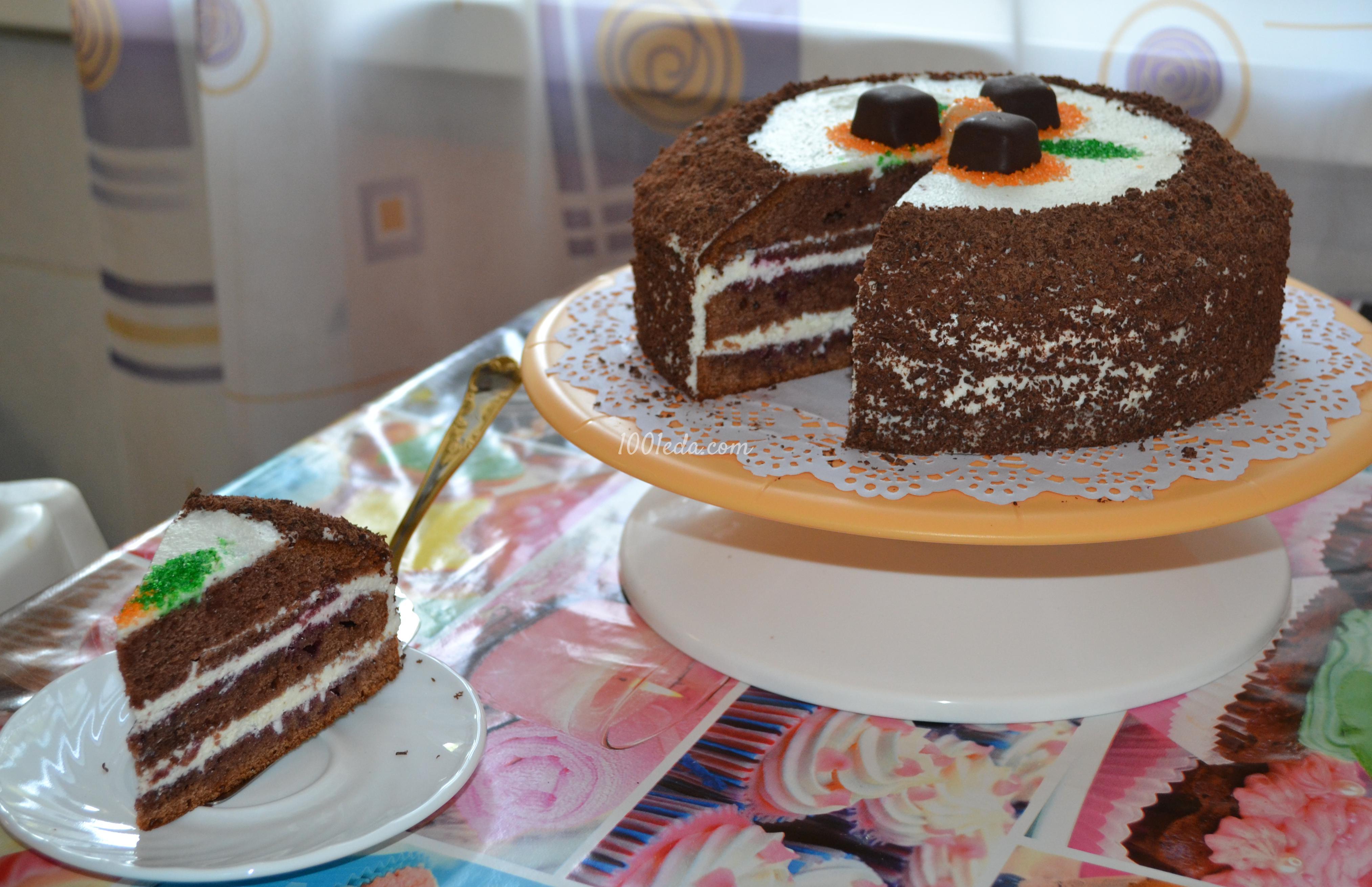 Вкусный торт с фото легкий рецепт