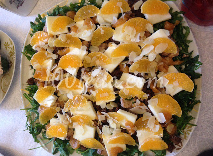 салат рецепты с фото пошагово