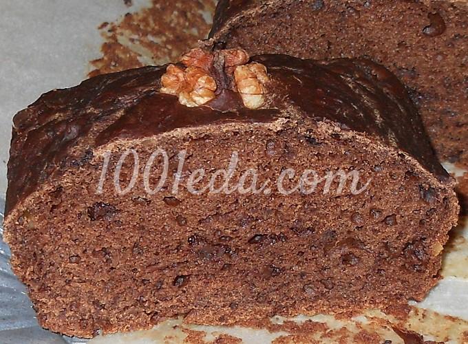 Чудесный шоколадный пирог с бананом и яблоками: рецепт с пошаговым фото