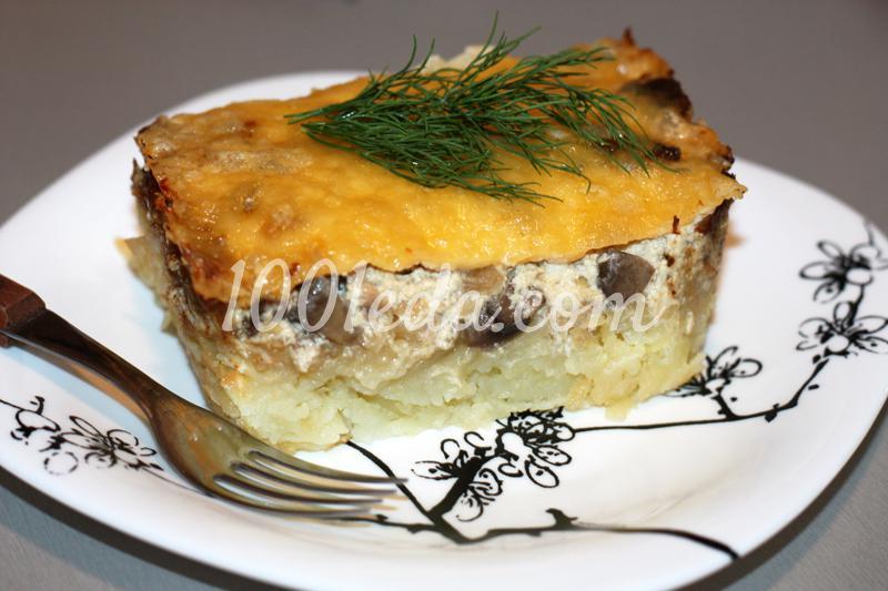 Запеканка картофеля рецепт пошаговым фото
