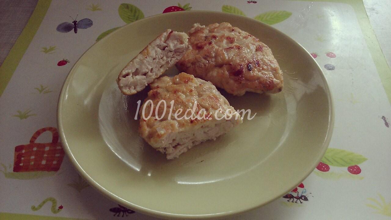 котлеты из фарша рецепт с сыром