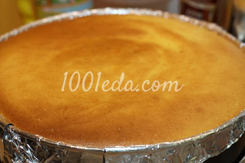 Нежный слоеный торт с молочно-маковой начинкой