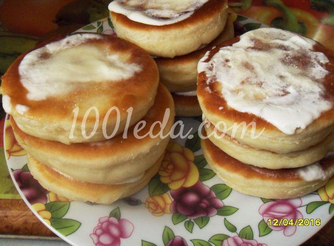Пончики со сметаной рецепт пошаговый 130