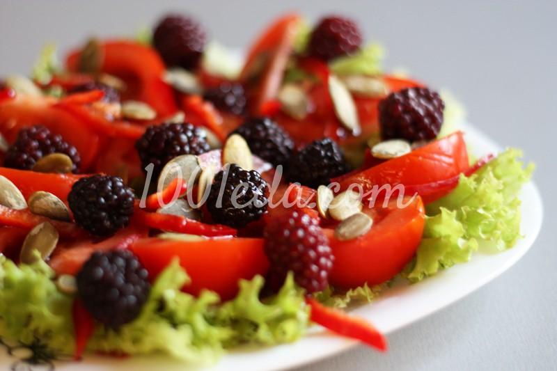 Как приготовить салат Ежевика