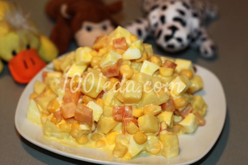 салат для детей рецепт фото