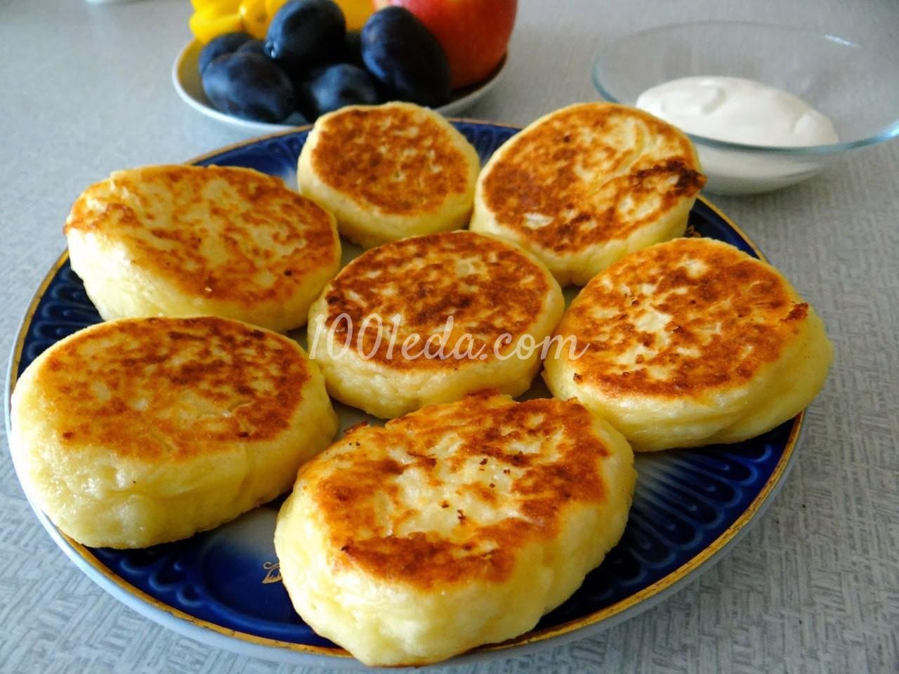 Сырники с корицей из творога рецепт пошагово