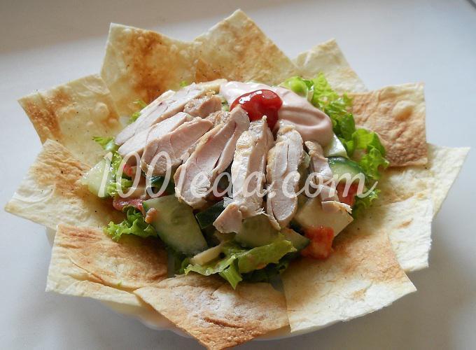 Тако-салат