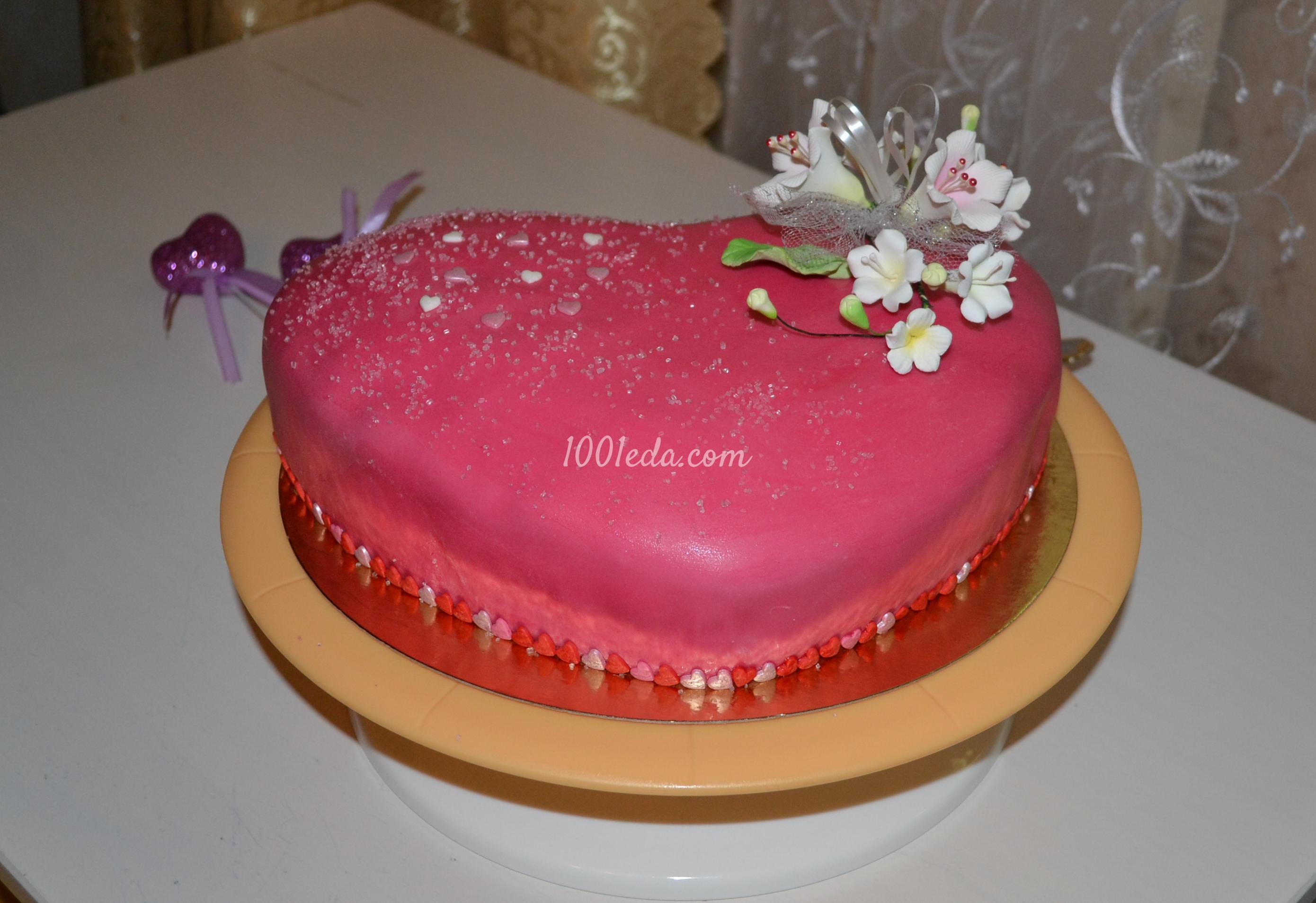 Мастичный торт пошаговый рецепт