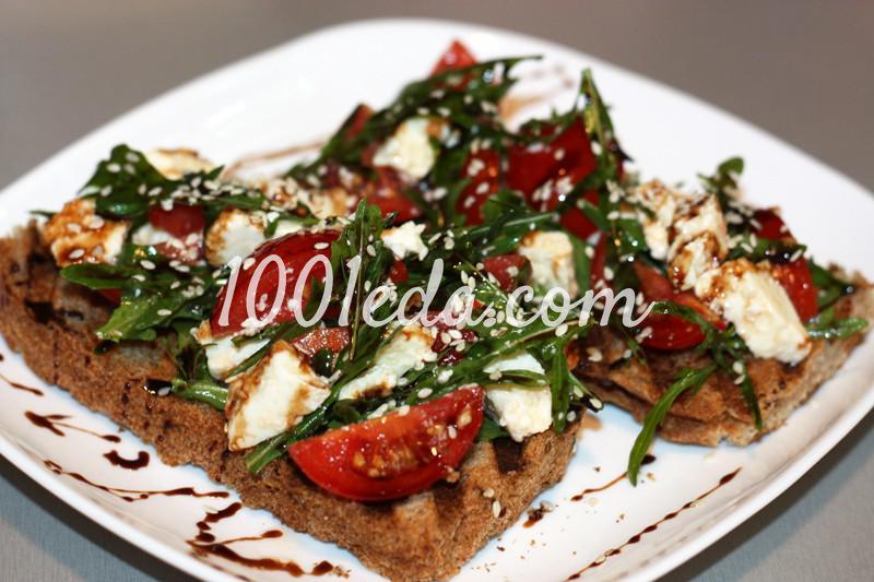 рецепт бутербродов из хрустящих тостов