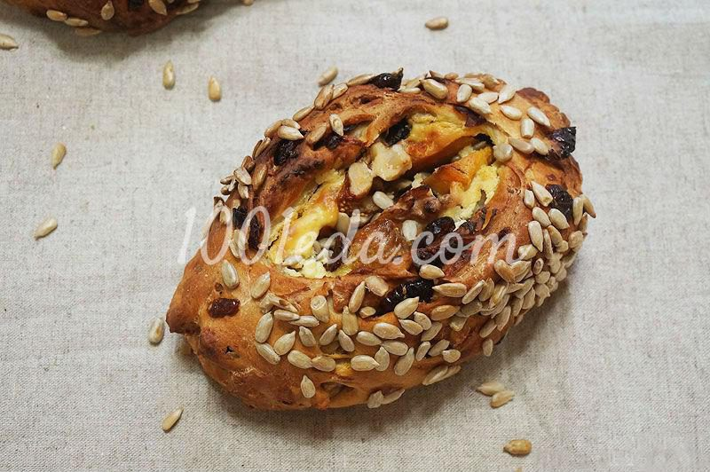 Булочка Корзина изобилия: рецепт с пошаговым фото