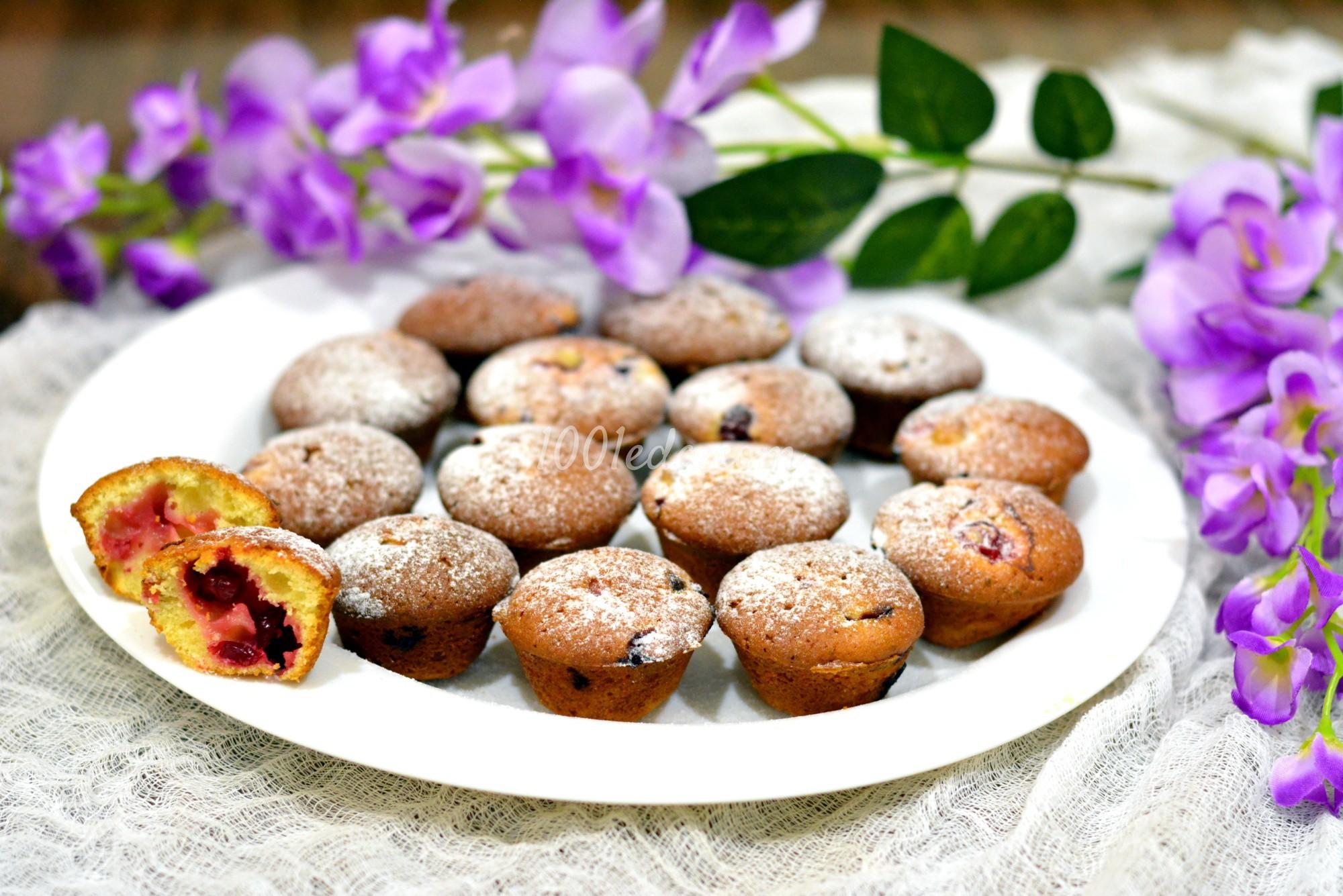 Творожные кексы с грушей рецепт 150