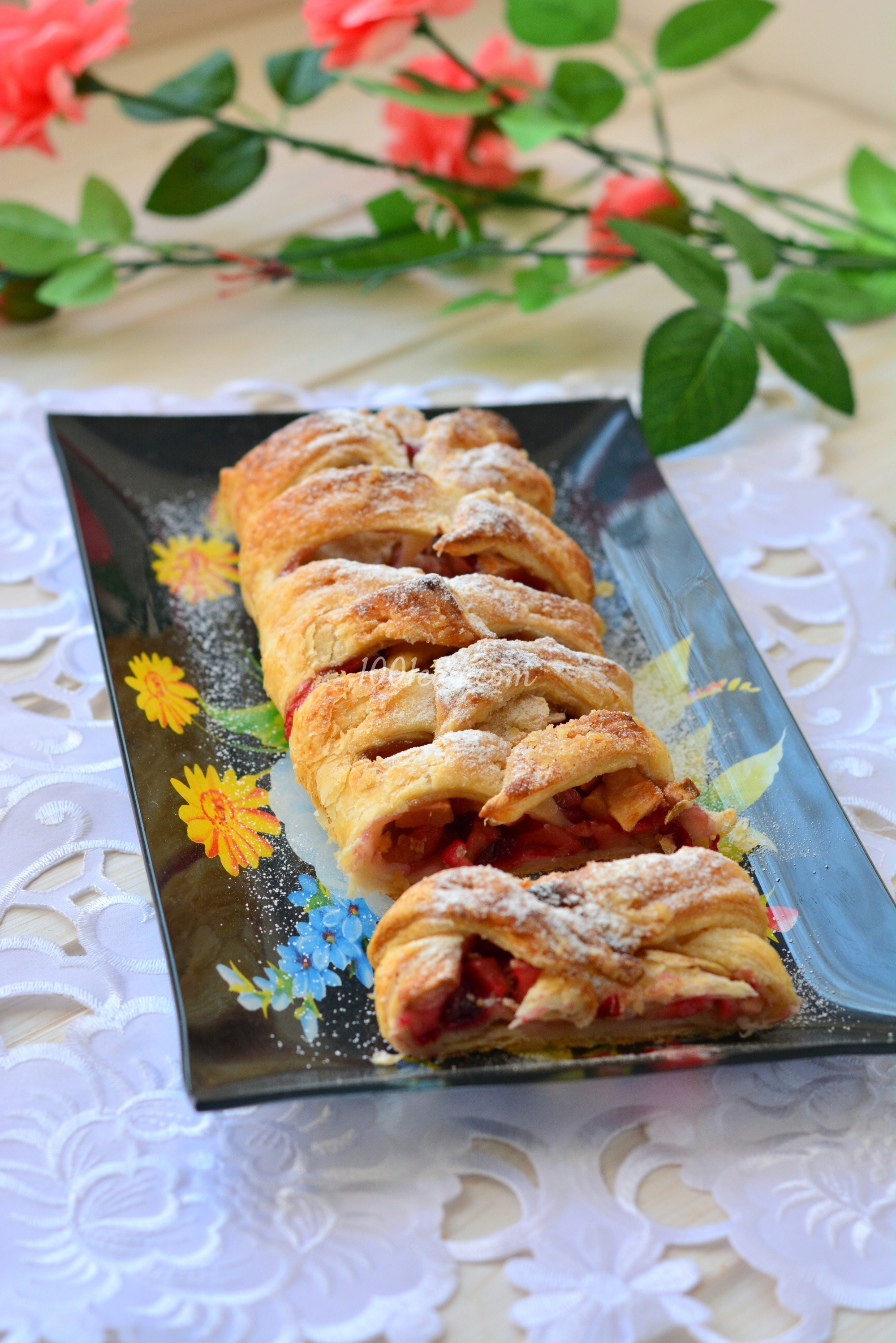 Яблочный пирог с безе пошаговый рецепт с фото