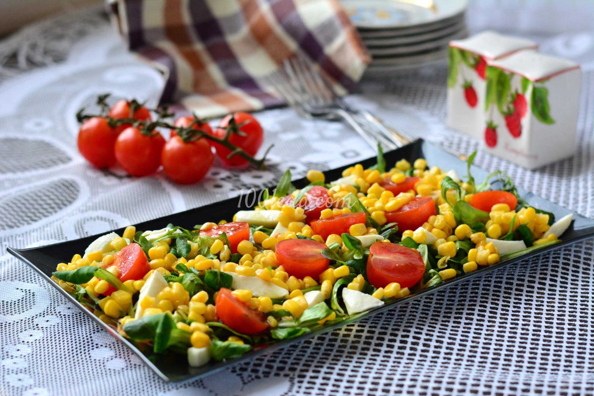 рецепт пошагово с фото салат с руколой