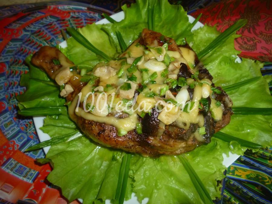 Ленивый окорочок с грибами в духовке: рецепт с пошаговым фото
