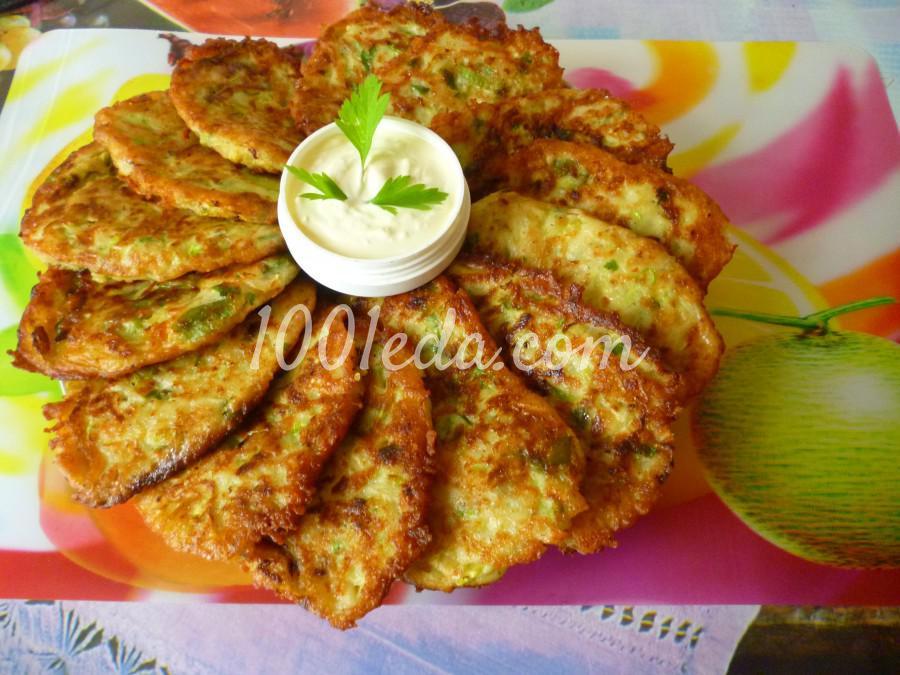 Кабачково-картофельные оладьи с сыром: пошаговый с фото
