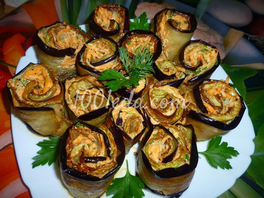 Овощная закуска из кабачка, баклажана и моркови: пошаговое фото