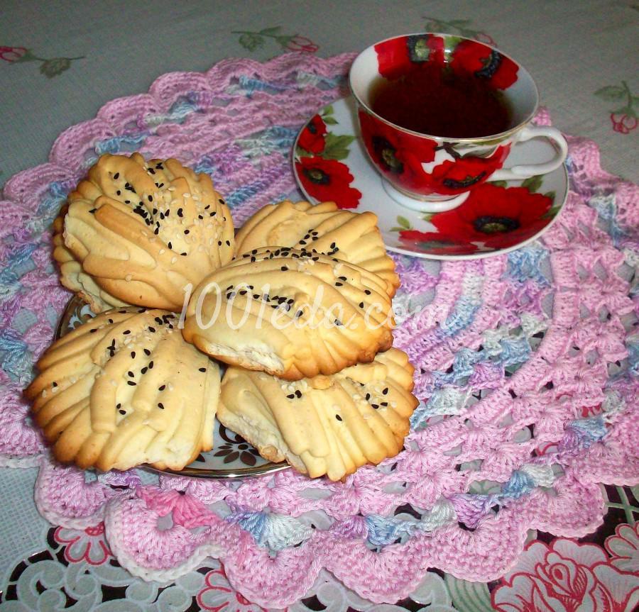 Печенье с курицей пошагово с