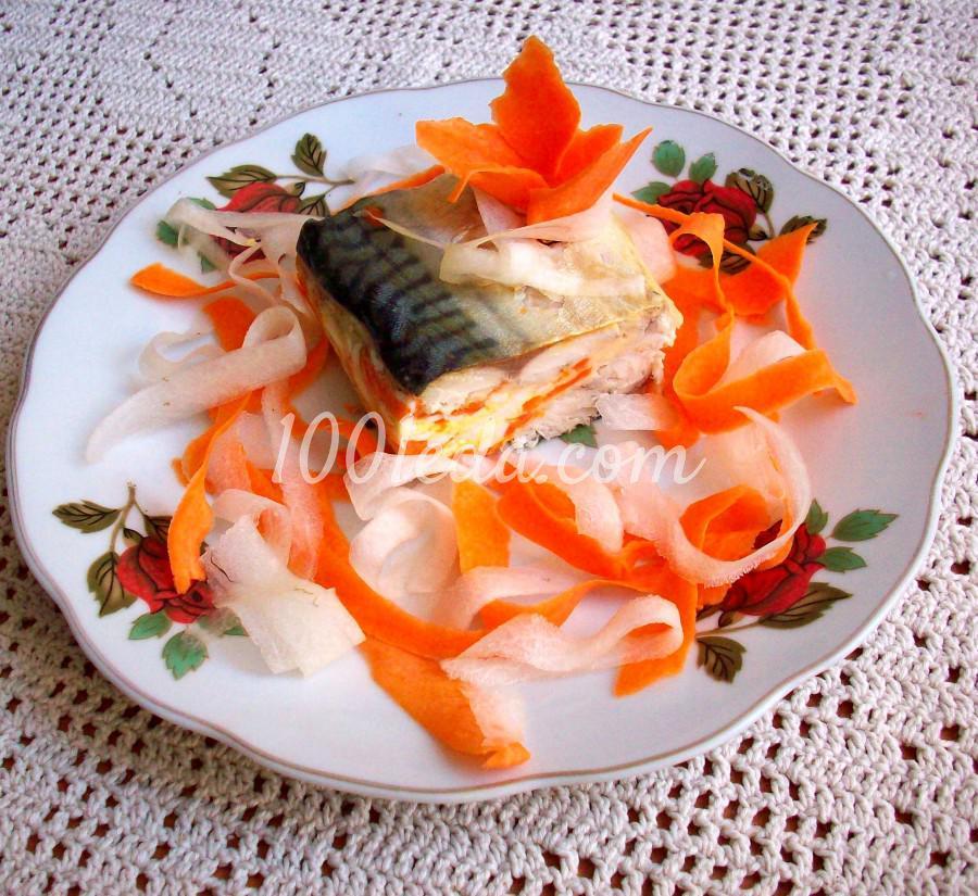 рецепт закуски из сыра и рыбы