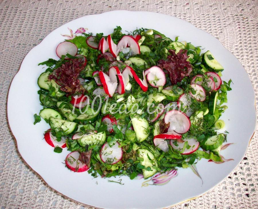 Овощной салат Ассорти: рецепт с пошаговым фото
