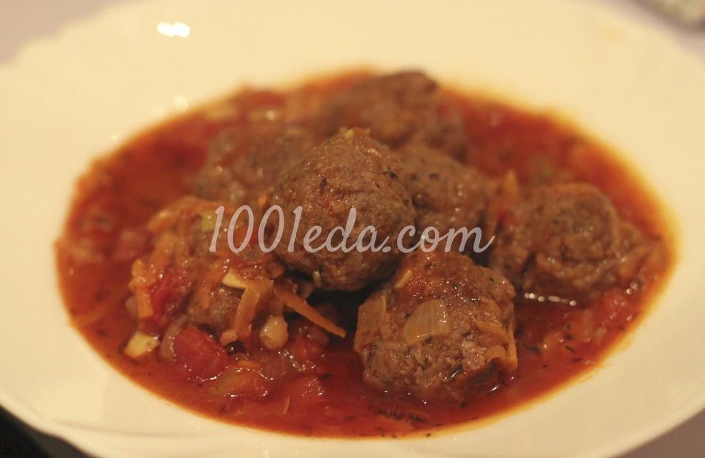 рецепт фрикаделек в томатном соусе в мультиварке