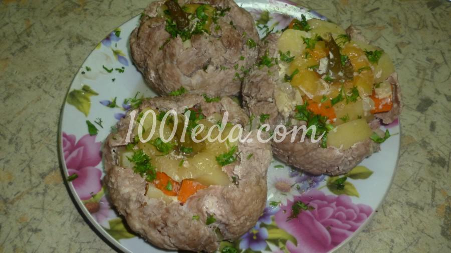 Картошечка в мясе: рецепт с пошаговым фото