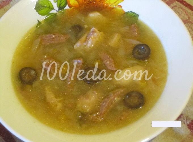 Солянка с капустой рецепт пошагово