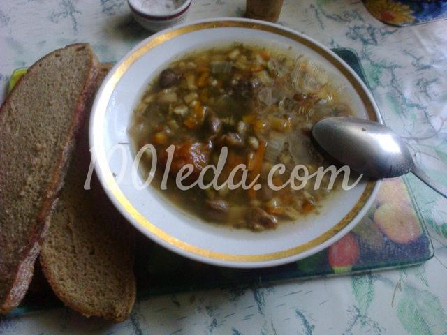 грибной суп рецепт в мультиварке по