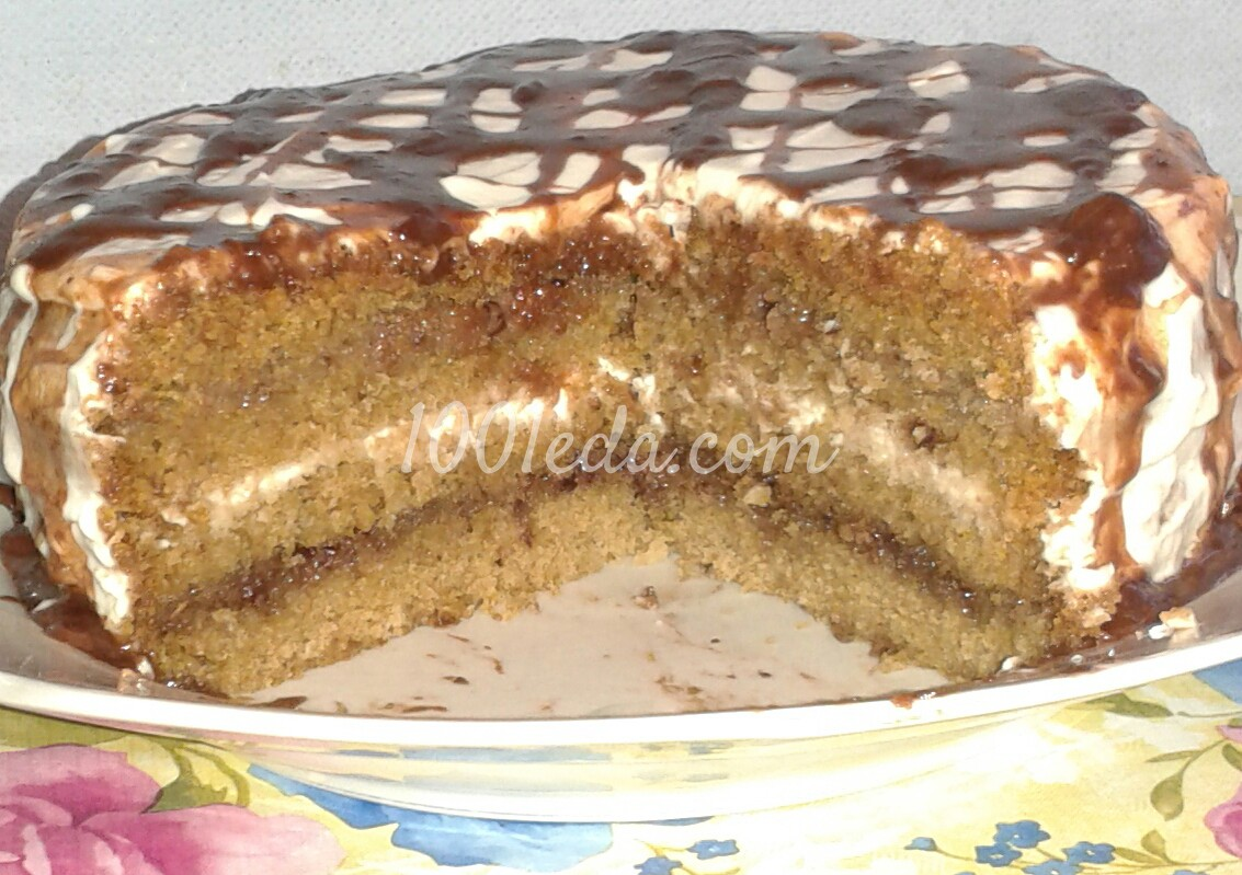 Торт зебра рецепт с фото пошагово в 75