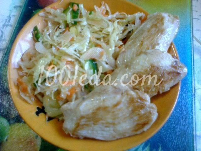 курица в соевом соусе в духовке рецепт с фото диетические