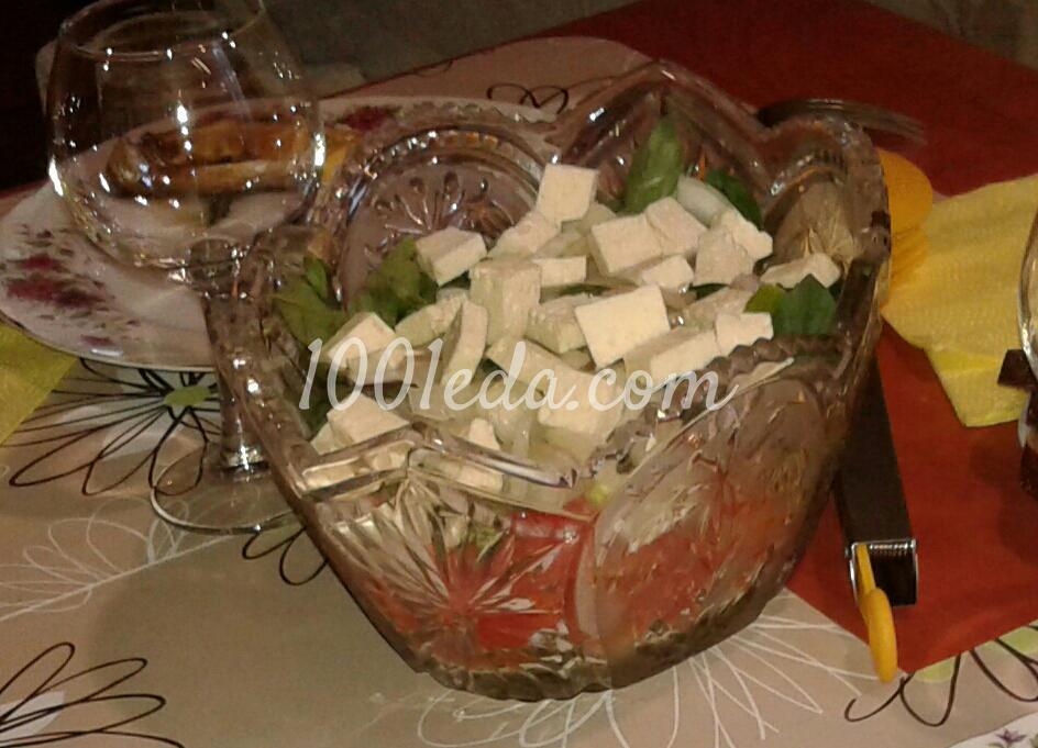 Салат с курицей и грибами без майонеза новые фото