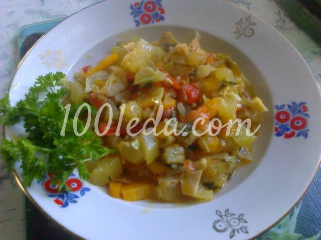 Овощное рагу в мультиварке для здорового питания