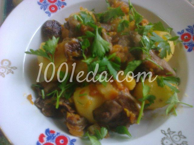 Как приготовить тушеную картошку с мясом в мультиварке рецепт с фото