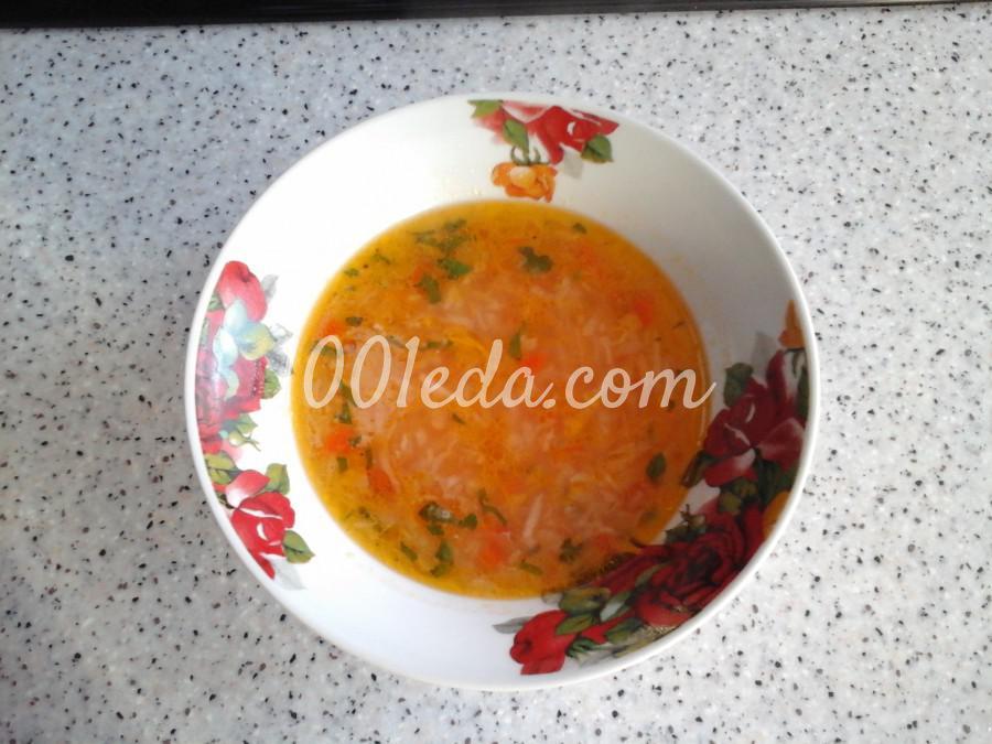 Постный суп с капустой