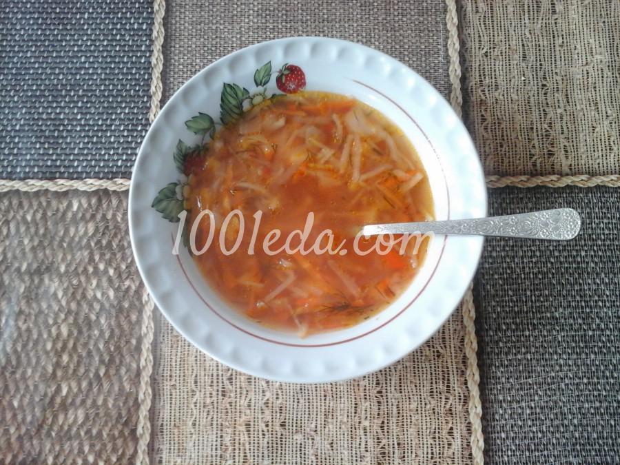 Картофельный постный суп рецепт