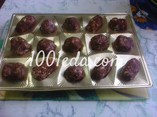 Рецепт домашних конфет фото пошаговое