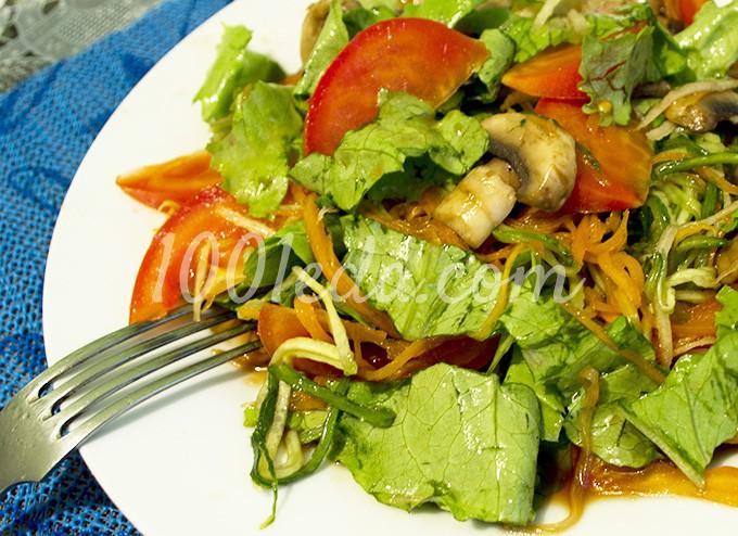 овощной салат рецепты с фото пошагово